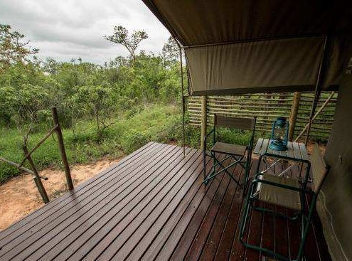 Kruger Park safari and Sabi Sand in a luxury tented camp