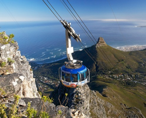 Garden Route Cape to Addo - Cable Car
