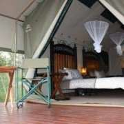 Luxury Tented Camp Safari Accommodation