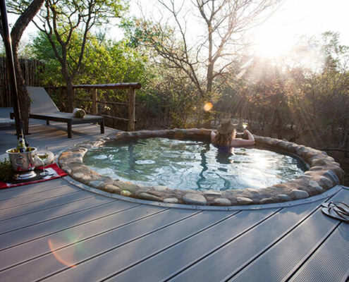 Greater Kruger National Park safari private splash pool