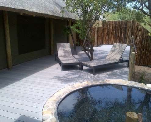 Katekani Luxury Tented Safari Pool & Deck