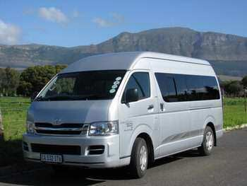Greater Kruger National Park safari Minibus