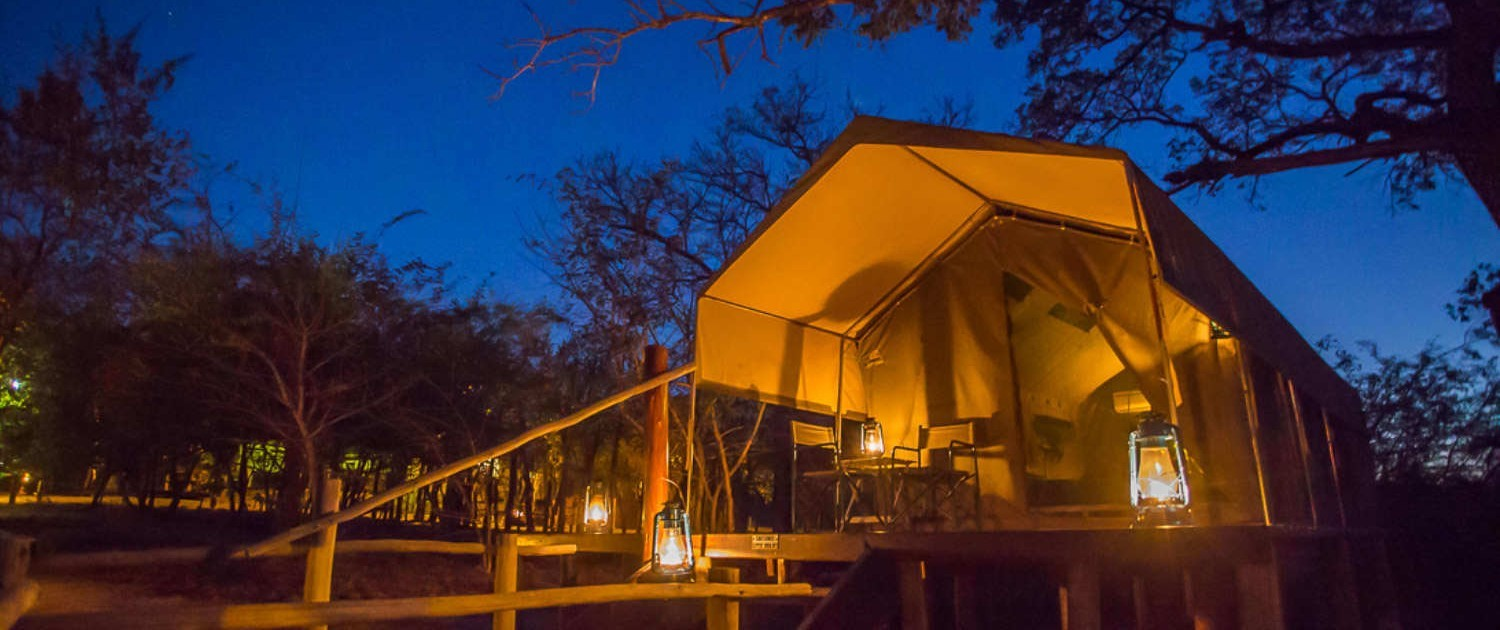 Kruger Park tours Safari in a Luxury Tented Camp