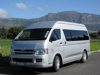 Kruger Safari - shuttle