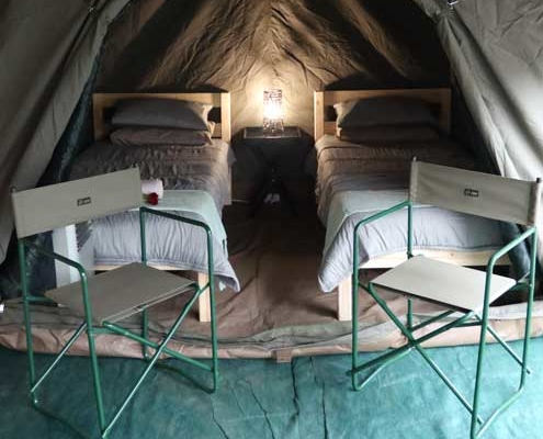 Camp Kruger Park affordable luxury tent